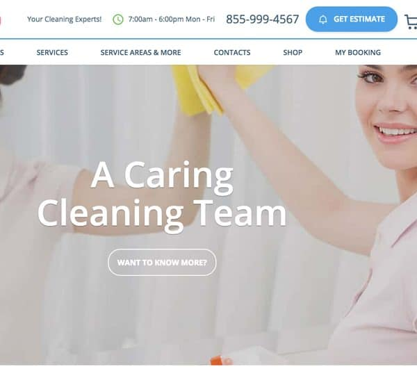 Maid Mia Cleaning Service portfolio maid mia cleaning service 600x544