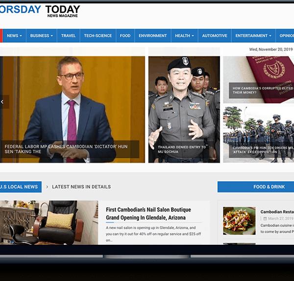 news News banner web design cambodia news laptop 600x574