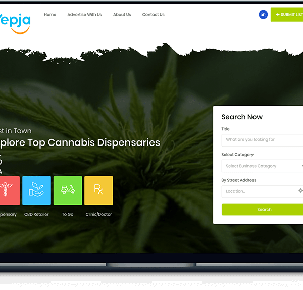 Cannabis Dispensary – Yepja banner yepja cannabis dispensary directory 600x574