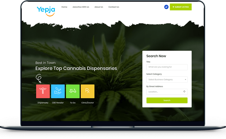 Cannabis Dispensary – Yepja banner yepja cannabis dispensary directory